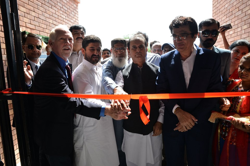 Dadu (September 30, 2019) – inauguration of a recently completed school for the local community at mondar, dadu.